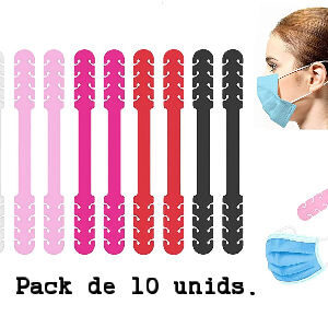 extensores mascarillas mujer